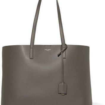 Saint Laurent - Shopper large textured-leather tote