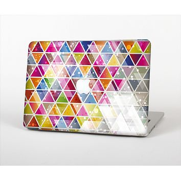 The Colorful Abstract Stacked Triangles Skin Set for the Apple MacBook Air 13""