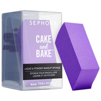 Sephora: SEPHORA COLLECTION : Cake and Bake Liquid and Powder Makeup Sponge : sponges-applicators-makeup-brushes-applicators-makeup