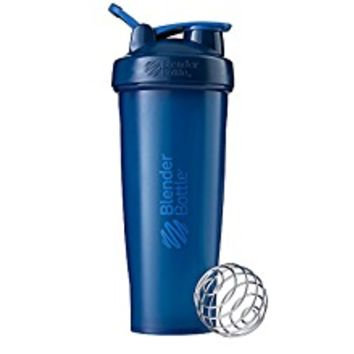 BlenderBottle Classic Loop Top Shaker Bottle, 32-Ounce, Navy/Navy