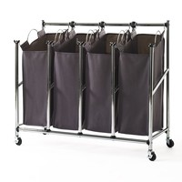 neatfreak everfresh Quad Laundry Sorter (Black)