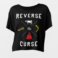 Girl's Reverse the Curse Flowy Tee
