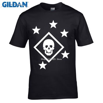 funny men cotton t shirt Adult Tees Shirt Marine Raider T Shirts Men's Clothes Printing Short Sleeve Tops For Men Apparel