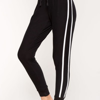 Athletic Stripes Jogger Pants