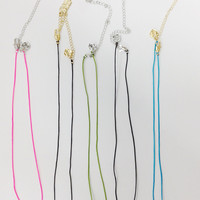 Love and Madness Star Wars Cord Necklaces