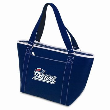 New England Patriots Insulated Navy Cooler Tote
