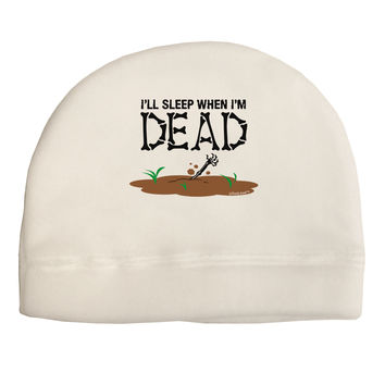 Sleep When Dead Child Fleece Beanie Cap Hat