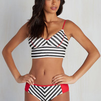 Different Backstrokes Swimsuit Top