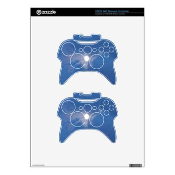 XBOX 360 Controller Skin with Moon Photo