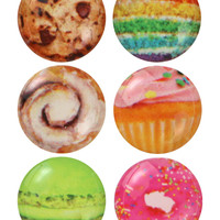 DESSERT IPHONE SCREEN HOME BUTTON PACK