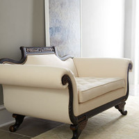 "Old Hickory Tannery ""Ellsworth"" Duncan Loveseat - Horchow"