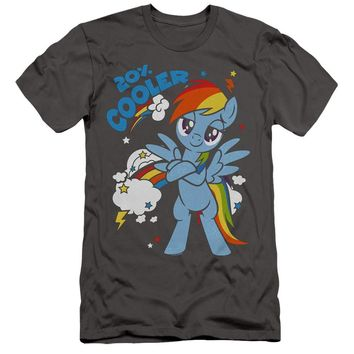 My Little Pony Slim Fit T-Shirt Cooler Charcoal Tee