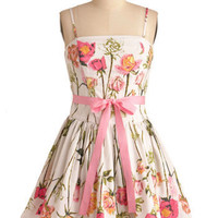 Betsey Johnson Antique Roses Dress | Mod Retro Vintage Dresses | ModCloth.com
