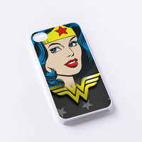 wonder woman logo iPhone 4/4S, 5/5S, 5C,6,6plus,and Samsung s3,s4,s5,s6