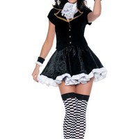 Adult Totally Mad Sexy Mad Hatter Costume- Party City