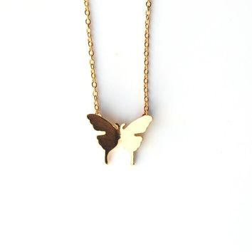 Fashion Cute Butterfly Pendant Necklaces for Women