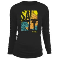 Salt Life | - Salty Wave Long Sleeve Tee