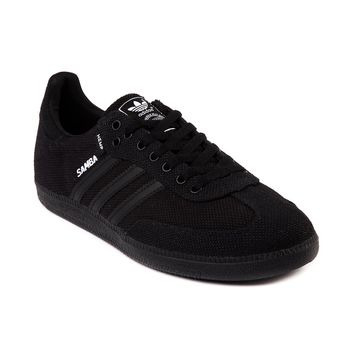Mens adidas Samba Hemp Athletic Shoe, Black Black White | Journeys Shoes