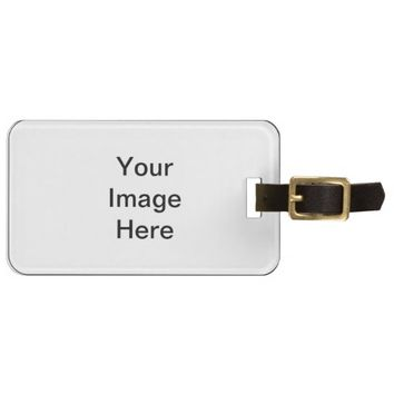 Design Your Own Custom Photo Luggage Tag