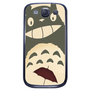 Totoro Smile Samsung Galaxy S3 Case