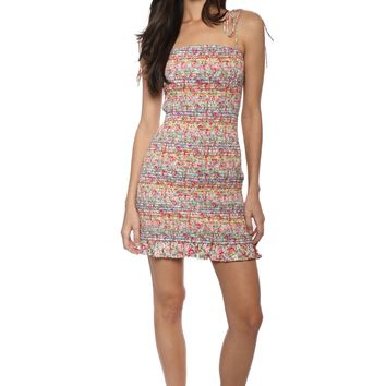 W.A.P.G Smell The Roses Mini Dress