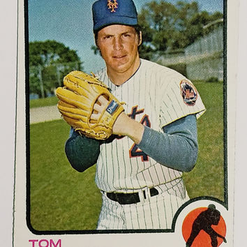 1973 Topps #350 Tom Seaver (HOF) New York Mets Pitcher - Great for Collectors!
