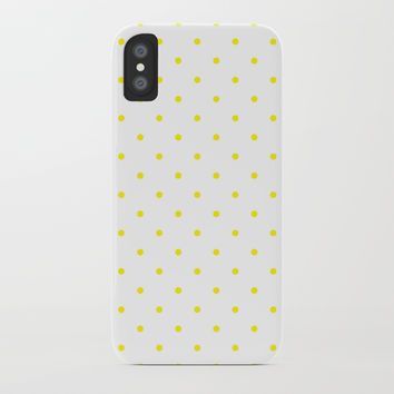 Small Yellow Polka Dots by CoolFunAwesomeTime