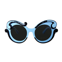Prada Sold Out Butterfly Two-Tone Sunglasses