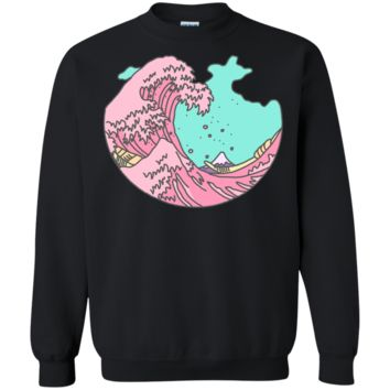 japanese anime pastel wave sweatshirt T-Shirt