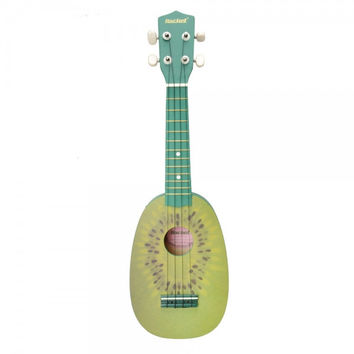 "Rockets 21"" Slap-up Kiwi Pattern Basswood Ukulele"