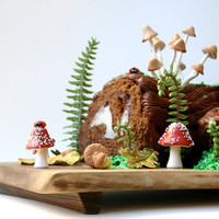 Woodland Cake Decorating Set / Make This Cake and Eat it Too ...Edible Decorating Set