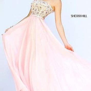 Strapless Prom Dress by Sherri Hill