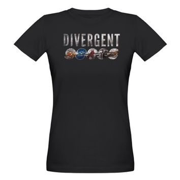 Divergent Emblems Split T-Shirt