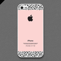 iPhone 5 case - Pink Leopard Pattern cases - also available in iPhone 4 and iPhone 4S size