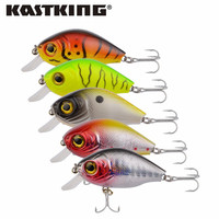 Super Price fishing tackle 3D eyes Crank fishing lure1pc fishing bait Free shipping 5cm 7g Free Shipping