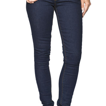 Girls Low Rise Curvy Skinny Jeans - Rinse Wash - Jordan