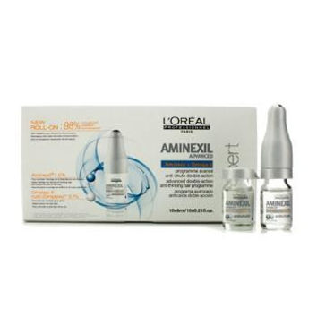 Professionnel Expert Serie - Aminexil Advanced Double Actioin Anti-Thinning Hair Programme - 10x6ml-0.21oz