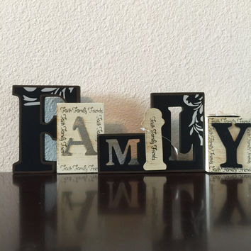 Family T-Light Candle Holder