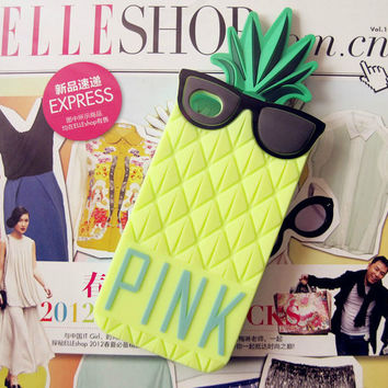 Pineapple Pattern Summer Fashion Style Lovely Women and Men Gift - iPhone 6 6SCase = 4827962628