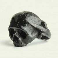 Black Lilian Skull  | NOT JUST A LABEL