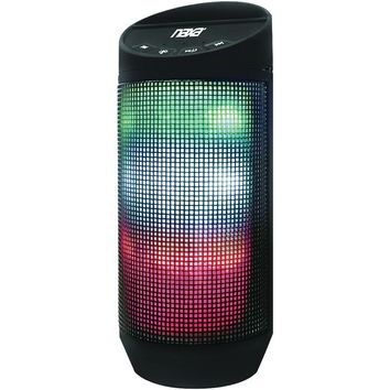 NAXA NAS-3080 Bluetooth(R) Speaker with LED Lighting Effects