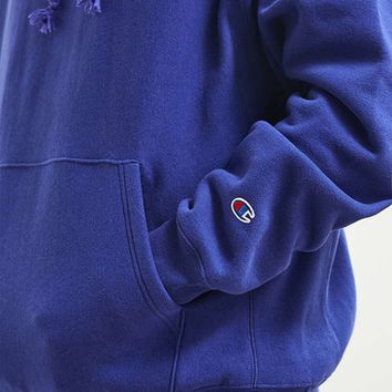 Champion Hoodie Embroidery Fashion Long Sleeves Top Sweater