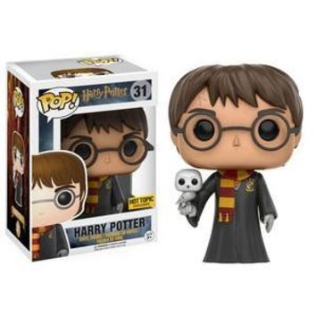 REPLACEMENT - FUNKO POP! HARRY POTTER HARRY POTTER (ROBES AND HEDWIG)