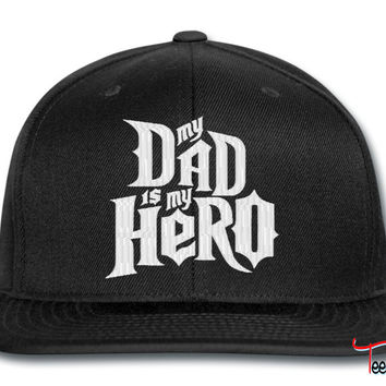 DAD IS MY HERO snapback