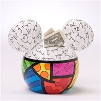 Mickey Mouse Coin Money Bank
