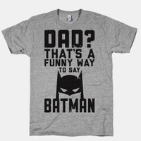 Batman Dad Shirt
