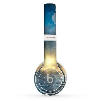 The Calm Ocean Sunset Skin Set for the Beats by Dre Solo 2 Wireless Headphones