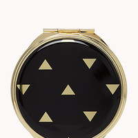 Geo Print Mirror Compact