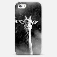 portrait of giraffe iPhone 5s case by Marianna Tankelevich | Casetify