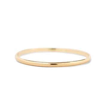 Mignon Memory Ring, yellow gold - Rings - Catbird